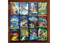 Bundle of Disney DVDs.
