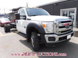 2012 FORD F-550  CAB AND CHASSIS