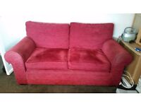 RED SOFAS 3 + 2