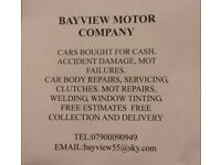 CARS WANTED FOR CASH 07900090949