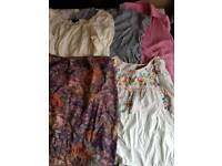 Maternity Clothes 14/16 Large 5 items Bundle 1