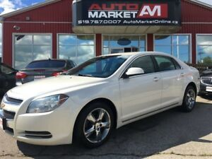 2010 Chevrolet Malibu Platinum, Leather, Alloys, WE APPROVE ALL