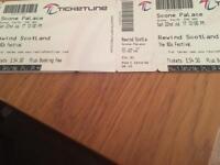 2 x Rewind Saturday only tickets