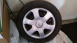 Four Michelin X-ice Winter tires(205/55R16)