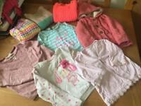 Girl's Mixed Bundle - 8 Items (2-5yrs)