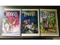 The Hobbit graphic novel, not DC marvel batman Superman spiderman