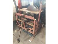 Tractor PTO Bench saw
