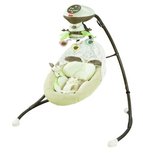 Fisher price snuggabunny swing