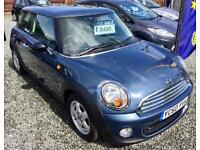 MINI HATCHBACK 1.6 One 3dr - One Owner Car - Outstanding Condition Inside & Out !! (blue) 2010