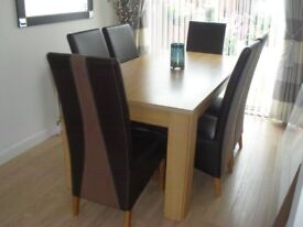 Beautiful Dining Table with 6 Chairs - Price reduced for quick sale.