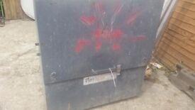 Job Site Tool Box Steel Metal Van Truck Garage Vault Site Security Chest