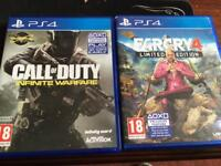 Cod infinite warfare / farcry 4