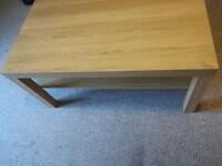 IKEA Coffee Table Oak Effect