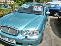 2003 ROVER 45 full year mot very tidy car inside and out full leather interior