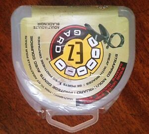 NEW! E-Z Guard Strapless Teen/Adult Mouth Guard with Case