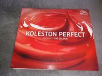 Wella Koleston Perfect Proffessional Hair Colour chart