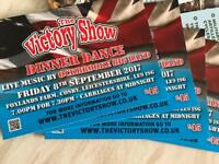 Victory Show Dinner Dance tickets x4