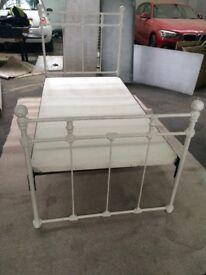 Single metal. Bed frame