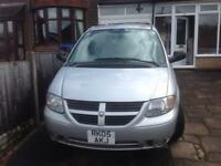 Dodge Grand Caravan 3.8Petrol left-hand drive