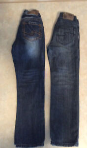 Silver boys size 7 jeans (2pair)