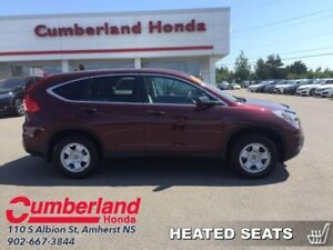 2015 Honda CR-V LX  - Bluetooth -  Heated Seats