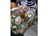 Brooch bouquets and wedding flowers