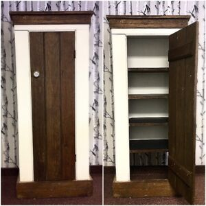 ANTIQUE Tall Cabinet (over 150 years old)