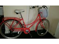 Almost new Kingston bike with basket