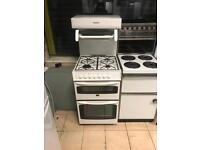 High grill 55 cm gas cooker