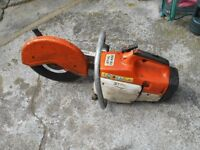 stihl ts400 petrol stone saw g w o