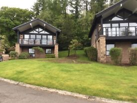 Cameron House. Luxury 2 Bedroom Lodge. Three Bathrooms. ,Sleep 6