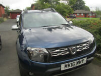 Dacia Duster '16 Special Ed Laureate Prime 1.5 DCI rear parking sensors Bluetooth FSH etc £10,400