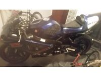 K5 gsxr 750 track bike