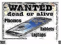 will buy laptops , mobile phones