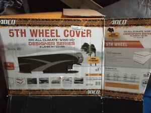 Fifth wheel winter cover