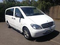 2005 Mercedes-Benz Vito 2.1 111CDI Traveliner Extra Long Bus 5dr (9 Seats)