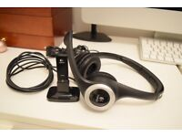 Logitech Wireless ClearChat Headset/Headphones in excellent condition