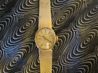 LONGINES LADIES WATCH 9CT GOLD IN PRISTINE CONDITION JUST SERVICED GUARANTEED TILL APRIL 2018