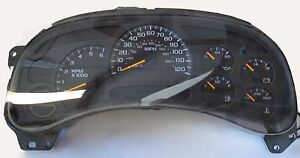 INSTRUMENT CLUSTER for CHEVROLET or GMC