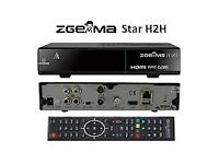 New ZGEMMA H.2H Combo HD Receiver Dual Core Linux OS DVB-S2 + Hybrid DVB-T2