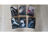 3 FIFTY SHADES AND 3 SYLVIA DAY BOOKS