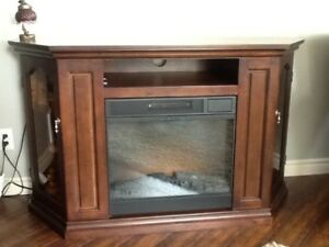 Electric Fire place and TV stand