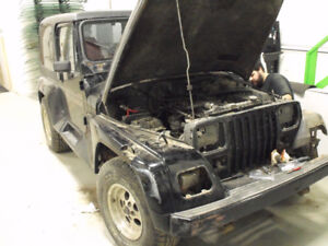 PARTING OUT 1992 JEEP RENEGADE