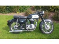 AJS 250 Lightweight Restoration project PX UK Delivery