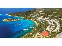 2 return flight tickets London - Bodrum 04.OCT - 11.OCT