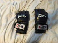 Fairtex FGV12 Blue Ultimate MMA Gloves- Medium size