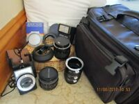 Camera Lenses etc