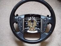 LAND ROVER DISCOVERY 4 STEERING WHEEL WITH FLAPPY PADDLES