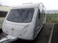 Swift island Harris 2011 4 berth touring caravan with Motor Mover.
