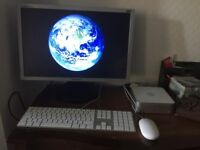 Apple Mac Mini / Monitor / Apple keyboard / Mouse / All Cables
